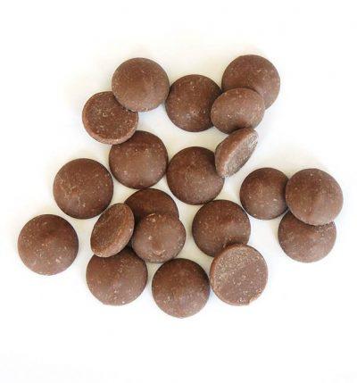 Milk chocolate buttons