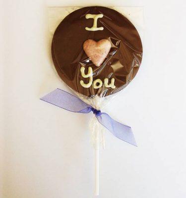 Lollipop milk I love you