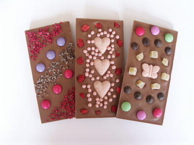 Chocolate workshop bars
