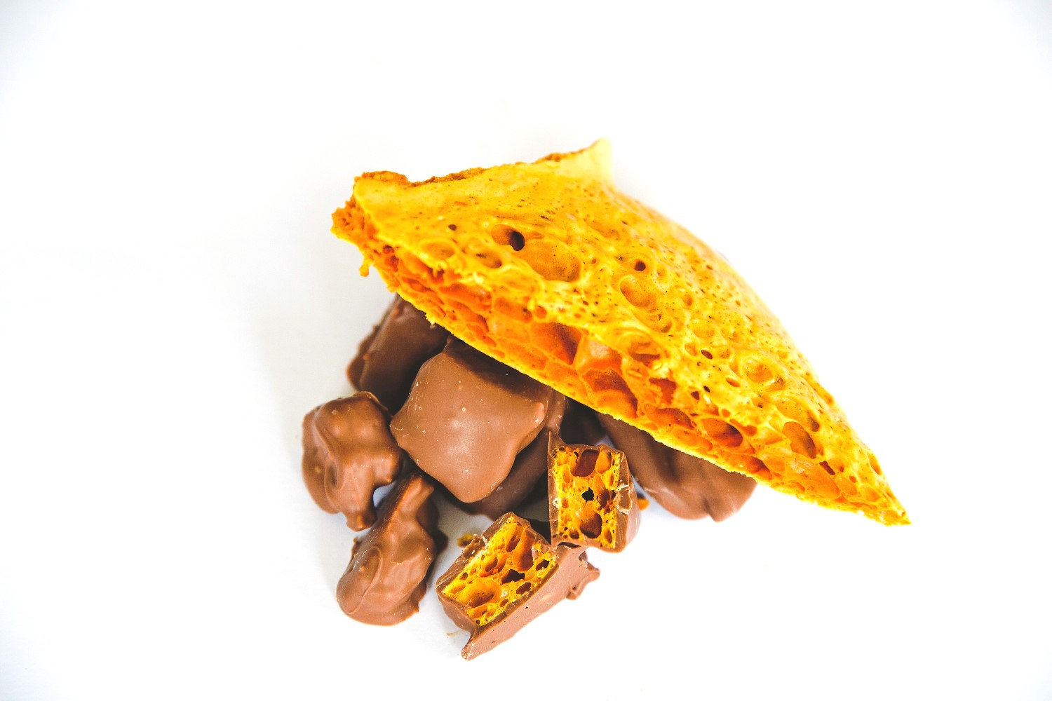 Yorkshire honeycomb chocolate